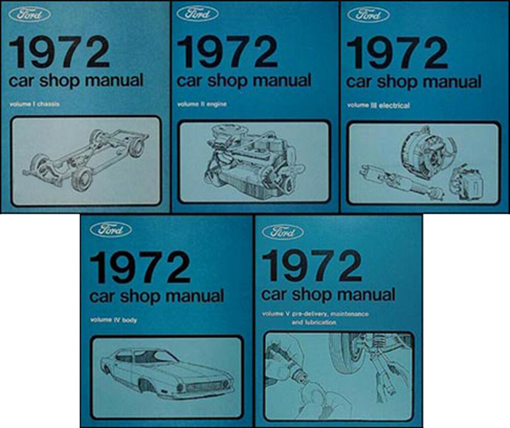 1972 ford ranchero owners manual
