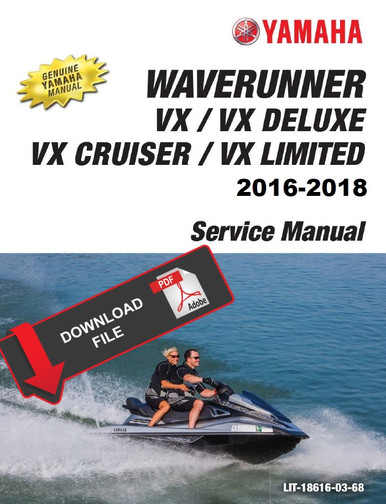 2018 yamaha vx deluxe owners manual