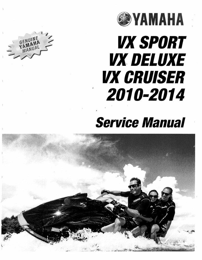 2013 yamaha waverunner vx deluxe owners manual
