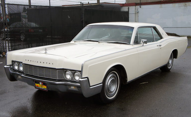 1967 lincoln continental owners manual