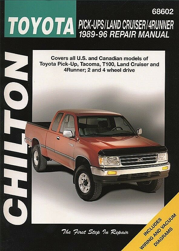 95 toyota 4runner owners manual