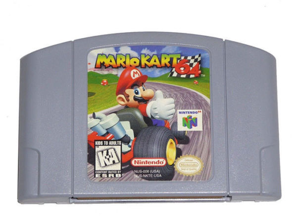 mario party 2 n64 with box and manual worth