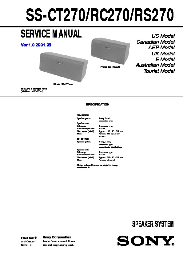 adc ss 2 service manual
