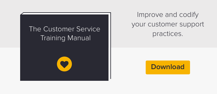 customer service excellence training manual